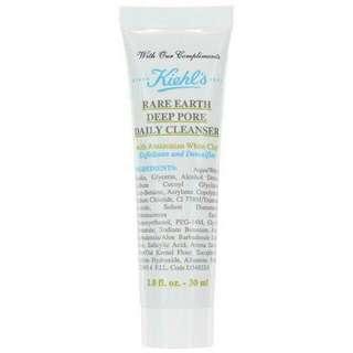 Kiehls Rare Earth Deep Pore Daily Cleanser 30ml