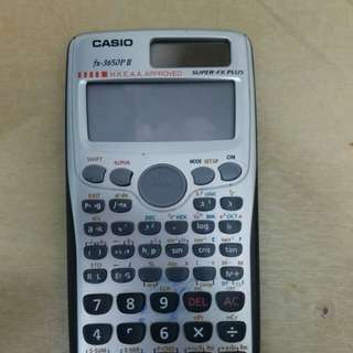 Casio 計算機 H.K.E.A.A approved calculator