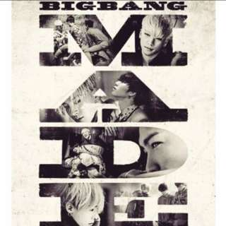 Bigbang 電影紀實海報