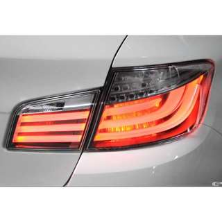 BMW 5 series F10 M5 M Performance Blackline Rear LED Tail Lights with installation