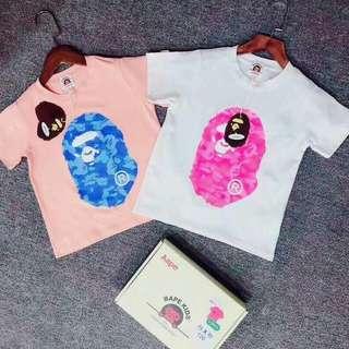 A. Bathing Ape T-shirt ~2pcs