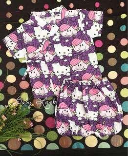Kimono Baby Girl - Hello Kitty Purple