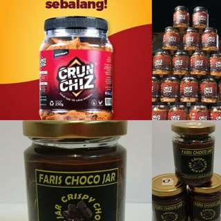 Crunchiz & coklat jar