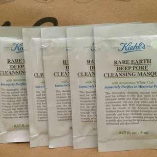 Kiehls Rare Earth Deep Pore Cleansing Masque Sachet