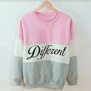 Sweater Diffrent Pink