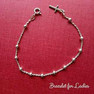 Authentic 925 Italy silver ladies bracelet