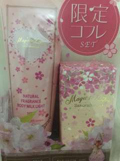 BRAND NEW Eau de Parfum with Milk Lotion Set (2)