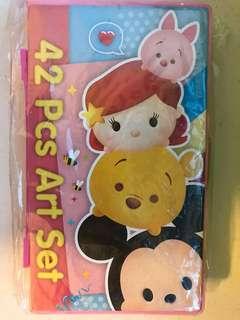 Disney Tsum Tsum 42 Pcs Art Set