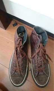 Dijual sepatu converse kulit murah!