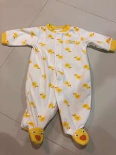 [Brand New] (3M) Carters Sleepsuit