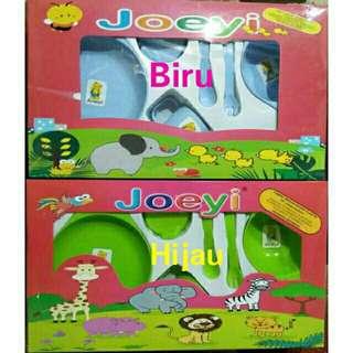 Baby Feeding Set Merk Joeyi (Tempat Makan Bayi)