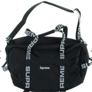 SUPREME BAG (BLACK)