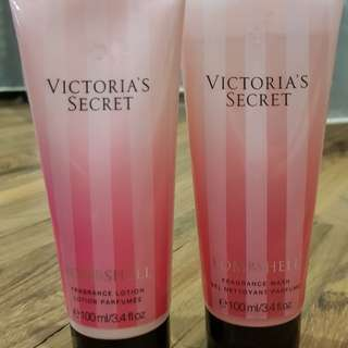 Victoria's Secret Bombshell Body Wash and Lotion 100ml