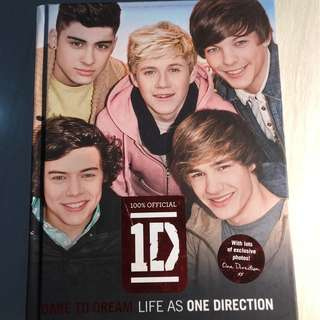 One Direction: Dare to Dream: Life as One Direction (Hardcover)