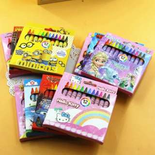 stationary gift / goodie goft / color crayon