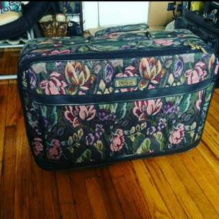 Vintage Traveling Suitcase