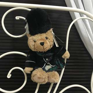 HARRODS Scottish bear