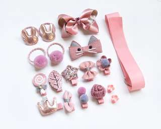18pcs Hair Accessories Set