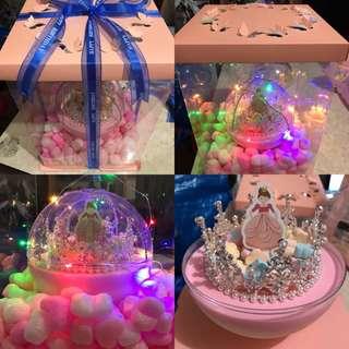 水晶球生日🎂蛋糕