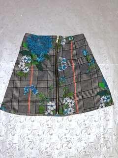 Zipfront Skirt