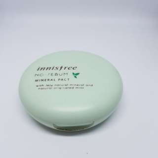 PRELOVED Innisfree No-Sebum Mineral Pact