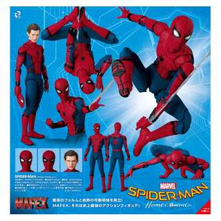 "MAFEX スパイダーマン:ホームカミング SPIDER-MAN HOMECOMING Ver. (MAFEX ""Spider-Man: Homecoming"" SPIDER-MAN HOMECOMING Ver.)"