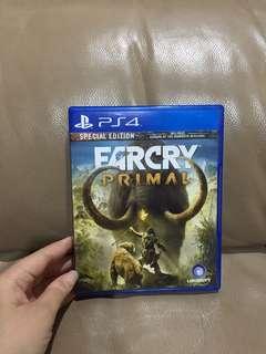 FARCRY PRIMAL - Kaset Game PS4 - ORIGINAL