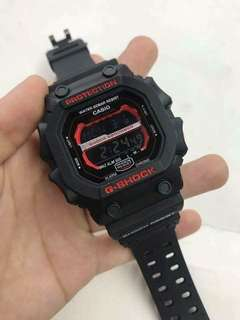 KING OF GSHOCK BLACK RED WATCH