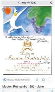 Mouton Rothschild 1982