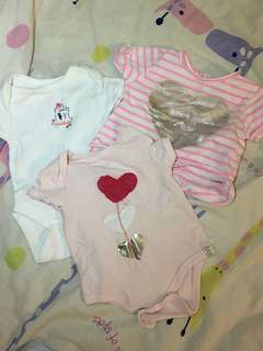 Set of 3 Baby rompers