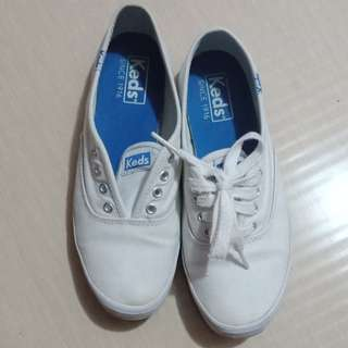 Authentic Keds White