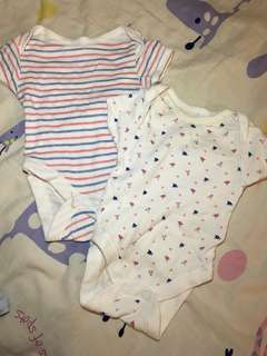 Set of 2 Mothercare Rompers