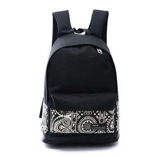 Backpack w/Printed Design(unisex)