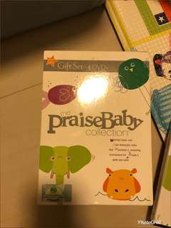 The praise baby collection -4 Dvds