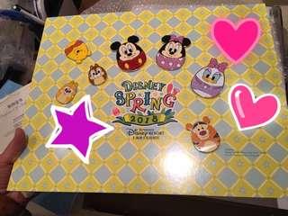 上海迪士尼復活蛋LE200徽章Pin Disney
