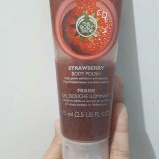 the body shop body polish