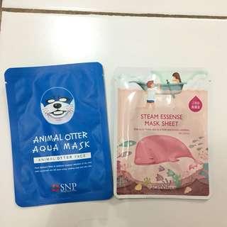 Masker animal, masker korea ori