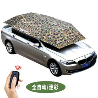 umbrella mobile carport coach car special sunscreen heat