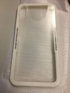 iPhone X cover in white