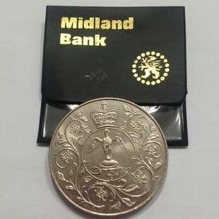 英國伊利沙白女皇紀念幣1952年-1977年