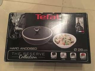 Tefal 法國特福 28 cm易潔鑊炒鍋 連蓋
