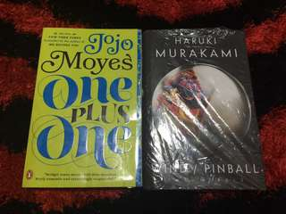 One Plus One by: Jojo Moyes & WIND/PINBALL by: HARUKI MURAKAMI