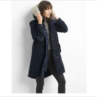 GAP 2 in 1 quilted parka