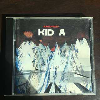 Kid A- Radiohead album
