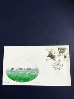 China Stamp 1988 T132 FDC
