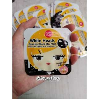 Cathy Doll White Heada Cleansing Black Clay Mask