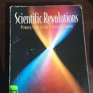 Scientific Revolutions by Brian S. Baigrie - HPS210 and HPS211 essential textbook