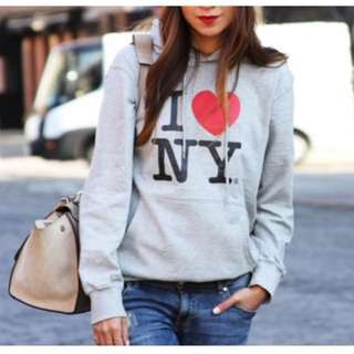 I Love NY Sweater Top