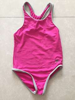Bright Pink One Piece Swimsuit