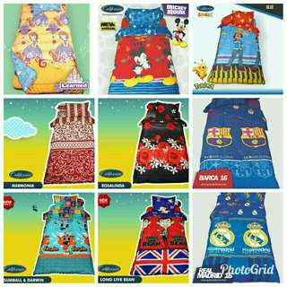 Sprei Single Motif Lucu